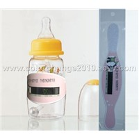 LCD baby milk bottle thermometer