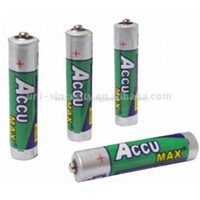 Accu Max R6 Size AA UM-3 Carbon Zinc Cell with PVC Jacket