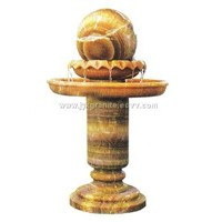 garden stone, fountain ball, stone carving, carving crafts
