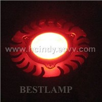 LED lamp 1W light with red light effect
