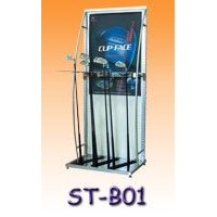 Golf Clubs Display Stand -slotted channel