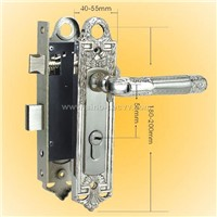 Middle Handle Lock SM-235 MN/CP