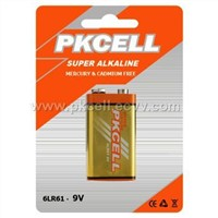Alkaline Battery 9V / 6LR61