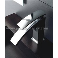 Chrome finish Bathroom basin faucets