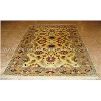 Hand knotted Kashan Carpet