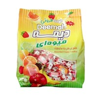 Fruity flavored center filled Deemah Toffee