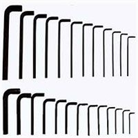 25pc Hex Key (Allen) Wrench Set