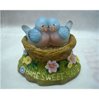 Home sweet Bird nest polyresin craft