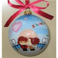 Hand Painted Christmas Ball,Hand painted glass ball