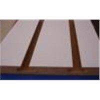 Slotted MDF