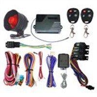 remote start engine and air conditioner car alarm system