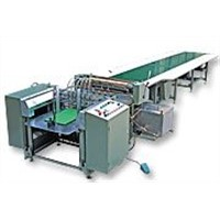 Cardboard&Case&Box AUTOMATIC GLUING Packing MACHINE