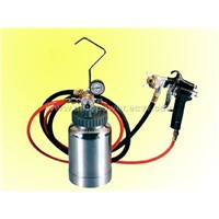 2L paint tank with spray gun set