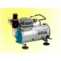 Mini Oilless Compressor for Air brush tanning / tattoo