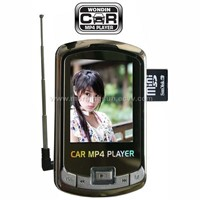 car mp4 with transmitter,radio, mini SD card,louder speaker, 12GB,2.0''''