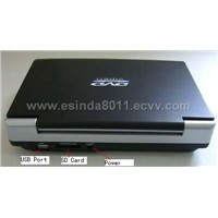 "7""DVD Player with TV"