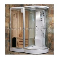 Dry And Wet Sauna Room Steam Room ISA-581W