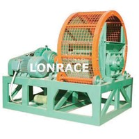 whole tyre crusher(waste tire recycling equipment)