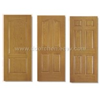 Prefinished HDF Door Skin Oak Color
