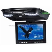 9.0 inches car TFT LCD Roof mounted DVD player