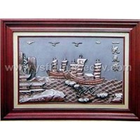 wood painting frame