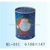 tin box coin bank , tin can tin cases