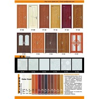 OUPAI PVC door,interior door,solid door,mold door