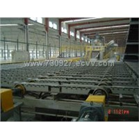mineral wool decorative ceiling  board production line