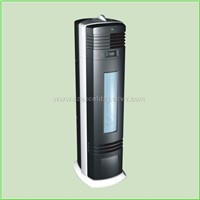 Air purifier with easy cleaning dust collector/UV/Charcoal filter