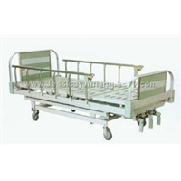 Aluminum Alloy center controlled three-crank manual bed