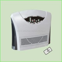 HEPA/Ozone air purifier w/remote control & timer