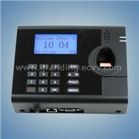 fingerprint time attendance with access control system