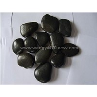 Colorful Polished Pebbles - Black