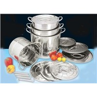Stainless Steel Steamer Stock Pot