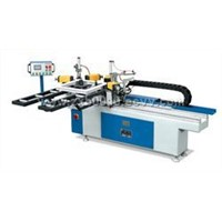 Hydraulic Double Corners Crimping Machine