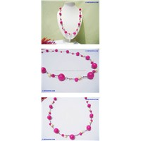 JEWELRY WHOLESALE ?Colourful Plastic Necklace