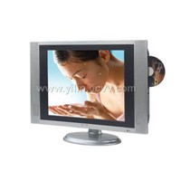LCD TV with DVD player