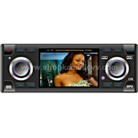 3.6 Inch 1 DIN In-Dash Car Audio Player