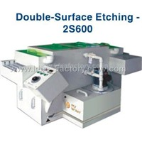 Double Surface Etching Machine