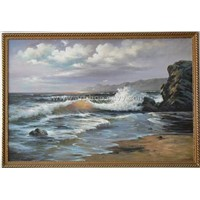 Oil Painting - Seascape