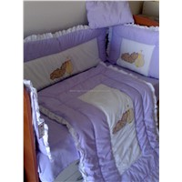 CICHEC ECO APLIQUE BABY BED SETS