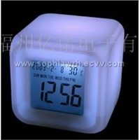 Cube LCD Timepiece (EN6099A)