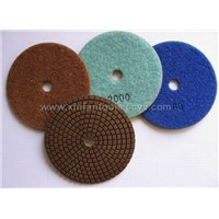 diamond flexible polishing pad