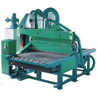 Glass machinery-glass centrifugal sand blasting machine