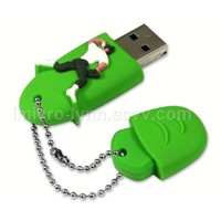 Olympic Rubber USB Flash Drive