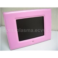"10.4"" Digital Photo Album w/ Pink Leather Frame and 512MB Built-in Flash Memory"