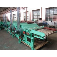 GM410 Type Four-roller cotton waste Cleaning Machine