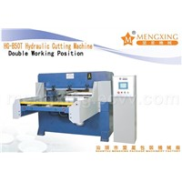 double working way cutting machine