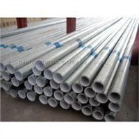 Steel pipe of lining plastic