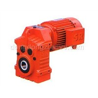 Parallel Shaft Helical Geared Motor (P)
